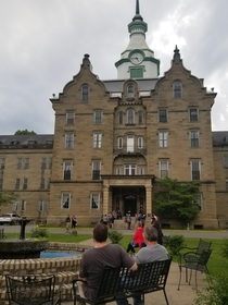 Abandoned asylum re-claimed Trans-Allegheny Lunatic Asylum open for ghost hunting tours to raise money to preserve the building