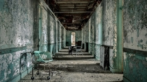 Abandoned Asylums Matt van der Velde  some completely empty and others still with all the furniture and equipment in place