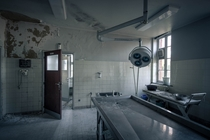 Abandoned Autopsy Room in a Hospital in Belgium  by A R