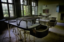 Abandoned Autopsy Room in Berlin where Adolf Hitler Eva Braun and the Goebbels Familys Remains were Examined   opacityus