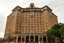 Abandoned Baker Hotel Mineral Wells Texas - Abandoned in  Most Haunted Hotel in Texas