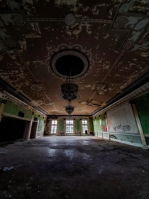 Abandoned Ball Room Vibes