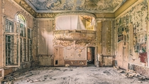 Abandoned Ballroom  by Johnny Wasted