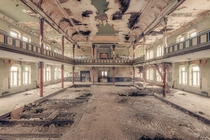 Abandoned ballroom in Germany  by Johnny Wasted