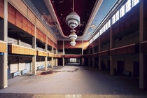 Abandoned Ballroom unknown location