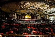 Abandoned ballroom where Frank Sinatra used to perform For the complete set wwwfbcombaltimoreurbex