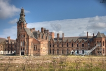 Abandoned Barnes Hospital in Cheadle Greater Manchester England