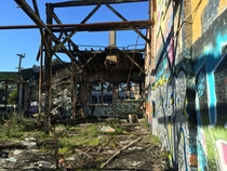 Abandoned Bayshore train yard hidden on San Franciscos border