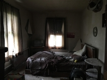 Abandoned bedroom in a -year-old house in Blackwood NJ