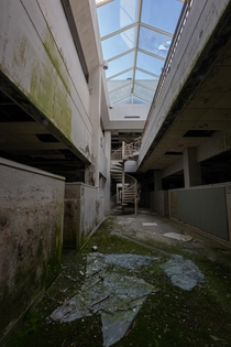 Abandoned bio research lab