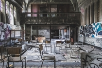 Abandoned boarding school in Doel Belgium