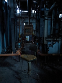 Abandoned Boiler Room in Seattle