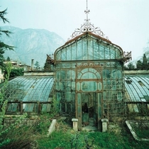 Abandoned Botanical Garden in Germany  by unknown