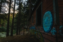 Abandoned boyscout camp in the hills outside my city