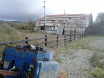 Abandoned Brd Na Mna Deforestation Office Co Donegal Ireland  x