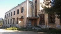 Abandoned Bread Factory in Athens Greece