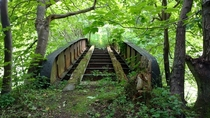 Abandoned bridge in Fife Scotland