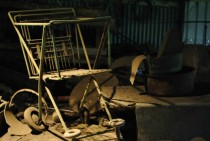 Abandoned buggy I found in a warehouse loftx