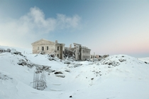 Abandoned building in Norilsk Russia by Elena Chernyshova