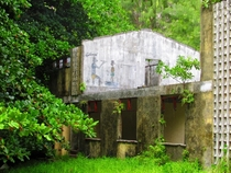 Abandoned building in Seychelles