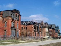Abandoned Buildings in Detroit