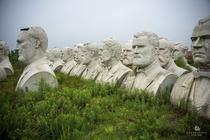 Abandoned Busts of Former Presidents