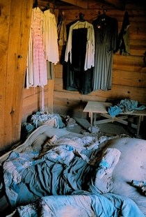 Abandoned Cabin Bedroom North Carolina