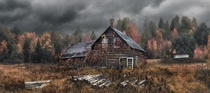 Abandoned cabin in Northern Ontario  Photo by Jay Daley xpost from rTrueNorthPictures