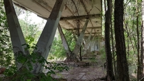 Abandoned Cafe Chernobyl Exclusion Zone Ukraine