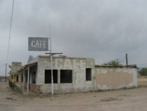 Abandoned Cafe in Yucca Arizona X