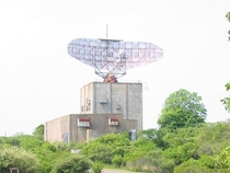 Abandoned Camp Hero radar installation Montauk NY
