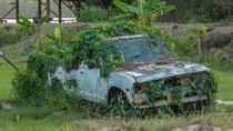 Abandoned car at the Johanna-Margaretha plantation in Surinam