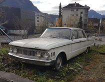 Abandoned car found in the Swiss canton of Schwyz