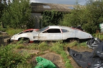 Abandoned Car from UFO  TV series