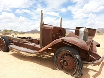 Abandoned Car - Solitaire Namibia
