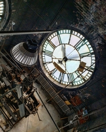 Abandoned Card Factory Clocktower - Cincinnati