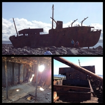 Abandoned Cargo Ship Aran Islands Ireland