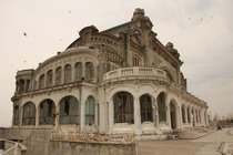 Abandoned casino in Constanta Romania
