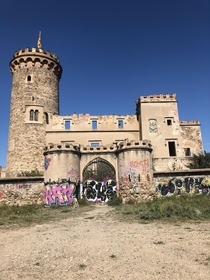 Abandoned castle outside of Barcelona Dating back to the th Century