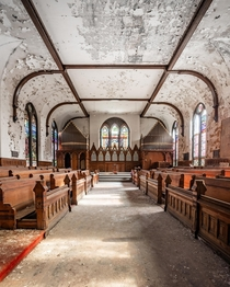 Abandoned catholic chapel