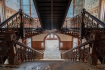 Abandoned Catholic High School for Boys