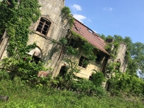 Abandoned cement factory and property penn hills Pittsburgh PA By Ashley zawojski