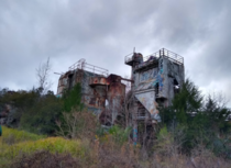 Abandoned Cement Factory here in Tallahassee Florida Got detain here