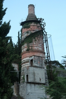 Abandoned Cement Factory Vicenza Italy