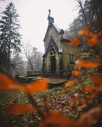 Abandoned Chapel in Hensko Czech Republic by L Sebastian