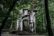 Abandoned chapel in Slovenia