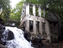 Abandoned Chemical Fertilizer Mill Gatineau Park Canada