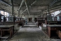 Abandoned chemistry lab  by Klaus Greipel