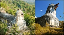 Abandoned Chicken Church - Borobudur Indonesia