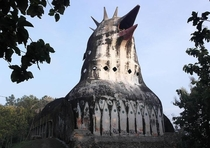 Abandoned chicken church Indonesia